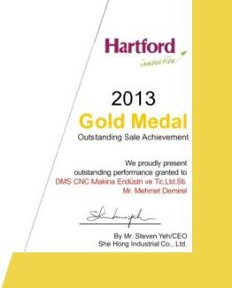 HARTFORD GOLD MEDAL